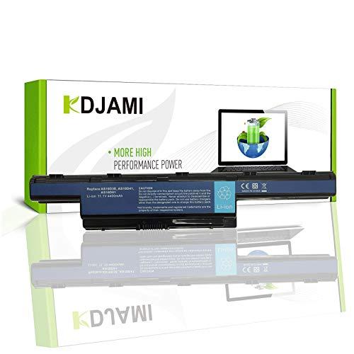 Batería de laptop para Acer AS10D31 AS10D3E AS10D41 AS10D51 AS10D61 AS10D71 AS10D73 AS10D75 AS10D81, alto rendimiento, 11.1 V, 4400 mAh