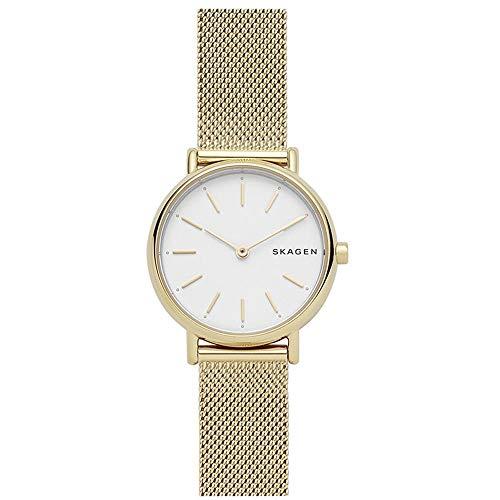 Skagen Damen Analog Quarz Uhr mit Edelstahl Armband SKW2693