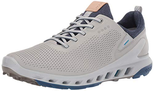 ECCO Men's Biom Cool Pro Gore-TEX Golf Shoe, Concrete Yak Leather, 45 M EU (11-11.5 US)