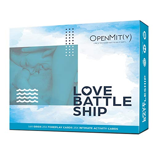 OpenMity Love Battleship - Fun & Romantic Couple Bedroom Game, Date...