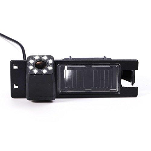 Telecamera posteriore retrovisione dell'automobile che inverte macchina di backup fotografica CCD impermeabile ad alta definizione per Astra H J Corsa Meriva Vectra Zafira Insignia FIAT Grande