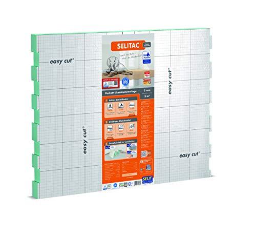 SELITAC 5 mm AquaStop - Sottofondi per pavimenti laminati e parquet (5 m²)