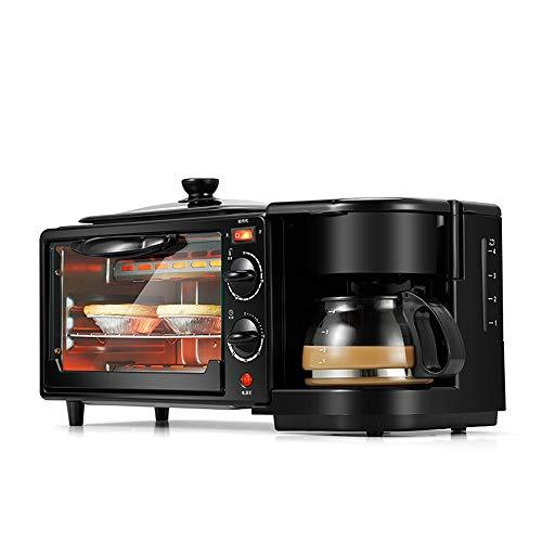 Home Frühstücksmaschine, Backofen und Kaffee multifunktionale 4-in-One-Toast, Toast, Omelett und intelligente All-in-One-Frühstücksmaschine, umfassende Küche