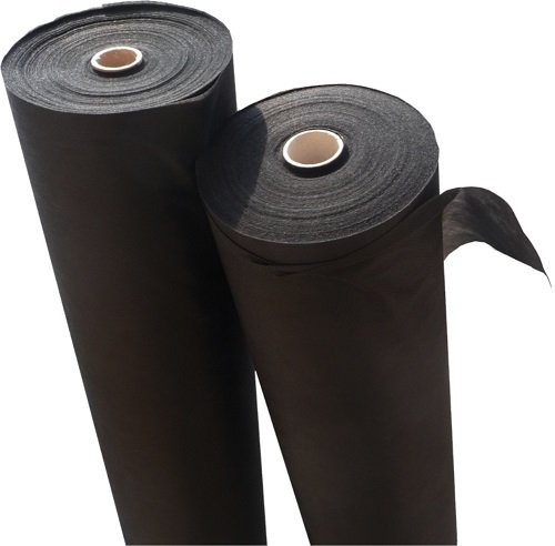 GardenFlora - Tessuto Non Tessuto, pacciame Anti-infestanti di qualità Professionale, con Elevata Resistenza ai Raggi UV e grammatura 150 gr/m², Dimensioni: 30 x 1,6 Metri (48 m²)