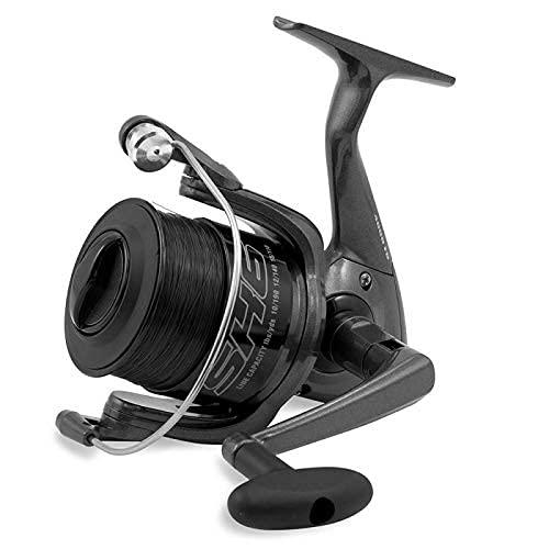 SHIZUKA Mulinello da Pesca Imbobinato SK6 4000 4000 con Frizione Anteriore Precisa e Potente da Spinning Bolognese Feeder Fondo Mare Trota Lago Leggero e Affidabile
