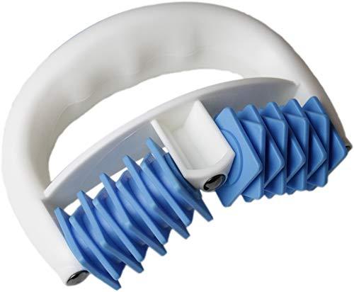 Massea® Anti Cellulite Massageroller mit Magneten in Blau - RollMag wirkt gegen Orangenhaut, Cellulite und sorgt für straffe Haut durch Massage - Perfekt für Wellness und Beauty