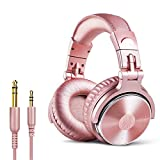 OneOdio Over Ear Headphones for Women and Girls, Wired Bass Stereo Sound Headsets with Share Port...