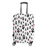 Funda para equipaje de viaje antiarañazos, funda protectora de equipaje, funda protectora de perro con forma de corazón, lavable, a prueba de polvo