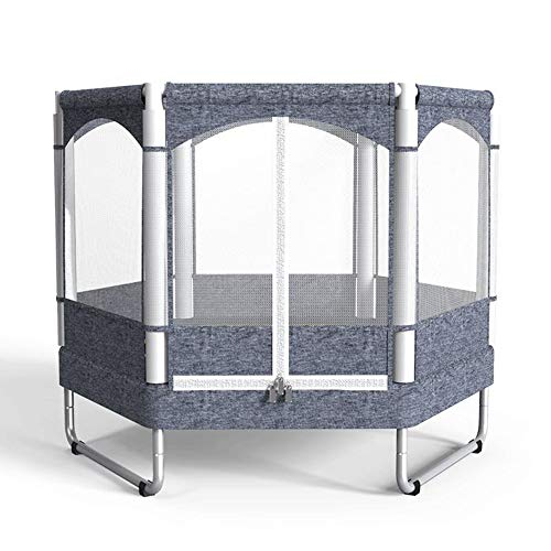 Fitness Trampoline Kids Baby Mini Rebounder Trampoline with Fence for Indoor Outdoor Exercise Jumper Max Load 150kg 1