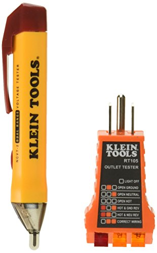 Klein Tools NCVT2KIT Voltage Test Kit, Basic pack