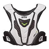 STX New Cell IV Lacrosse Shoulder Pad Liner White/Black Large 131-180lbs