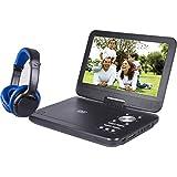 ONN SDVD1055-ONN 10in Bluetooth Portable DVD Player Kit with Bluetooth Headphones (Renewed)