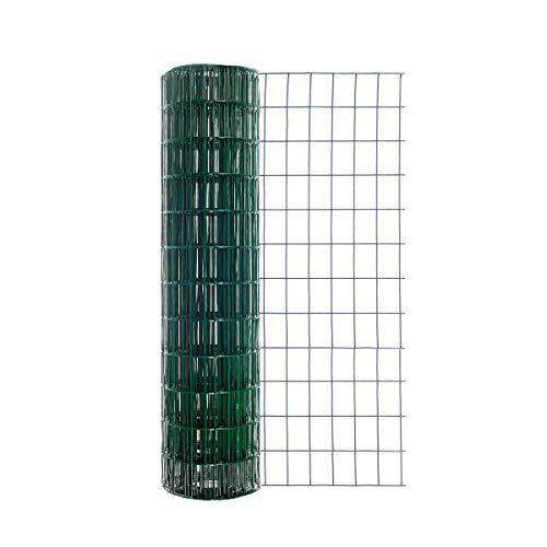 Origin Point Garden Zone 36 Inches x 50 Feet 16-Gauge Green Vinyl...