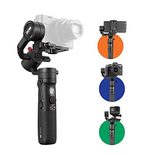 ZHIYUN Official CRANE M2ジンバル 小型 多用途スタビライザー スマートフォン/カメラ対応