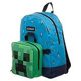Zaino e Lunch Box Scuola Minecraft