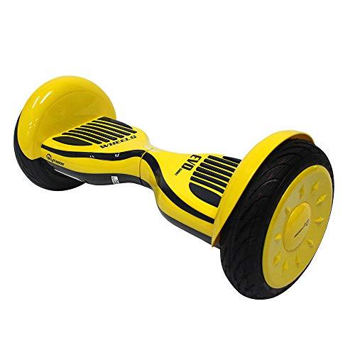 Hoverboard con LED e Borsa per Il Trasporto, 10 Pollici Scooter Elettrico Auto bilanciato...