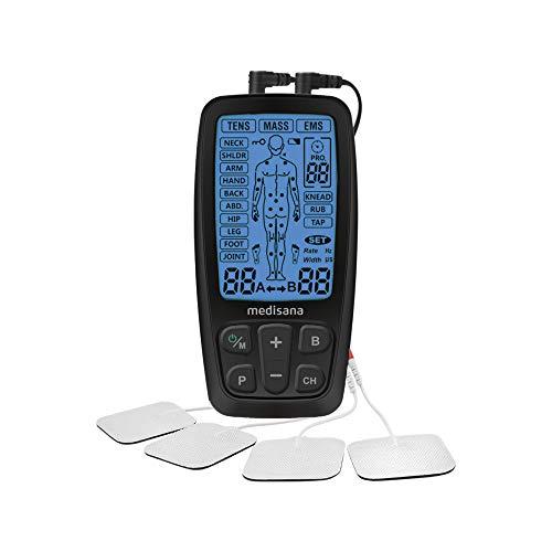 Medisana TENS, aparato de corriente de estimulación EMS con 60...