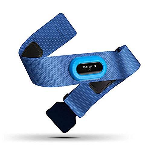 Garmin HRM-Swim Fascia Cardio per Nuoto, Rilevamento Frequenza Cardiaca sotto l'Acqua, Blu/Azzurro