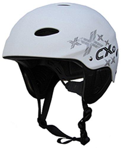 Concept X Kite + Surf Helm CX Pro Wassersporthelm White/Schwarz/Carbon (weiß, XS)