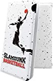 AQUOS sense3 plus SH-RM11 ケース 手帳型 デザイン イラスト バスケ バスケット バスケットボ……
