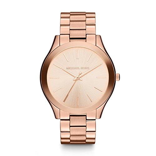 Michael Kors Damen Analog Quarz Uhr mit Edelstahl Armband MK3197