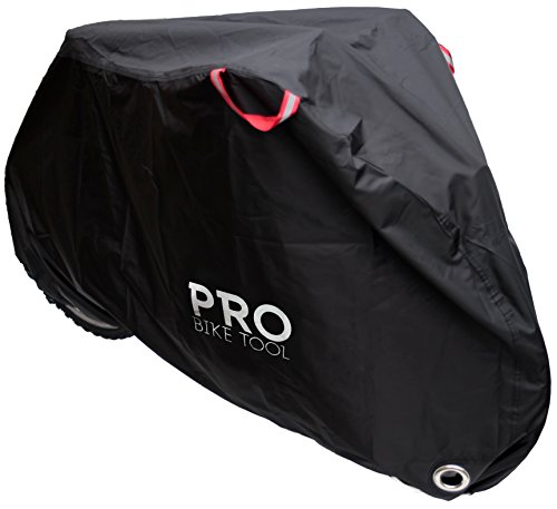 Pro Bike Cover for Outdoor Bicycle Storage - Large - Heavy...