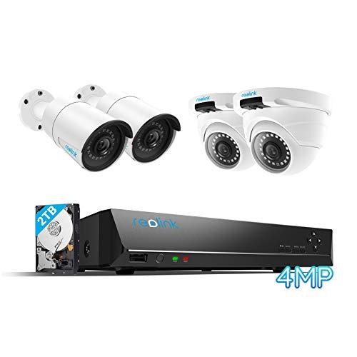 Cámaras de vigilancia de 4mpx con WIFI