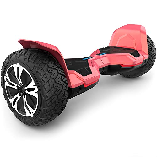 Gyroor Warrior 8.5 inch All Terrain Off Road Hoverboard with Bluetooth Speakers and...