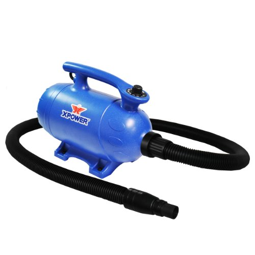 Xpower B-5 4 HP Variable Speed 2-in-1 Pet Dryer...