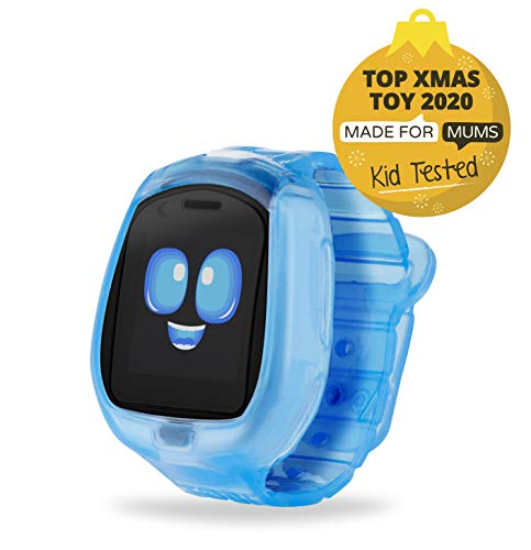 Image 1 - Little Tikes Montre connectée Robot Tobi pour les enfants, équipée d'une caméra digitale, d'une vidéo, de jeux & activités pour garçons et filles – Bleu. Dès 4 ans et +