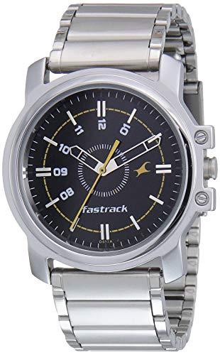 Fastrack Economy Analog Black Dial Men's Watch