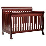 DaVinci Kalani 4-in-1 Convertible Crib in Rich Cherry, Greenguard Gold Certified