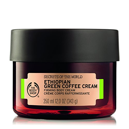 The Body Shop Spa of the World Ethiopian Green Coffee Body Cream, 12 Ounce