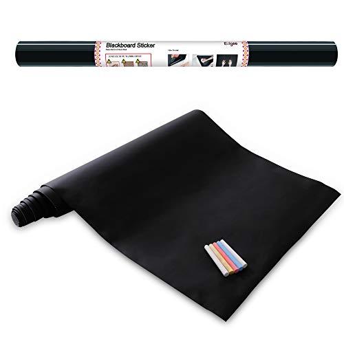 Ezigoo-Carta Lavagna Adesiva - Adesivo Lavagna Rimovibile Memo da Parete- 43cm x 210cm con 5...
