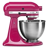 KitchenAid 4.5 Quart Tilt Head Stand Mixer, Cranberry Color