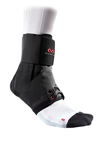 McDavid Ankle with Strap (Black, X-Small)