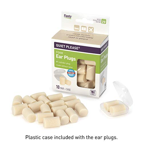 Flents Quiet Please Foam Ear Plugs Value Pack (25 Pair)
