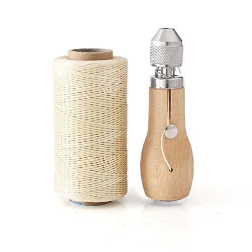 Professional Speedy Stitcher Sewing Awl Hand Stitcher Repair Tool Kit for Leather and Heavy Fabrics...