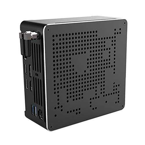 Partaker B18 Coffee Lake Nuc Intel i9 8950HK 6 Core 12 Threads Mini PC Windows 10 Pro DDR4 AC Wifi Desktop Computer HD Mini DP, Barebone System