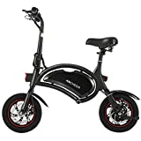 ANCHEER Folding Electric Bike 350W Motor Scooter 12 Inch City Commuter Ebike with 15 Mile Range,...