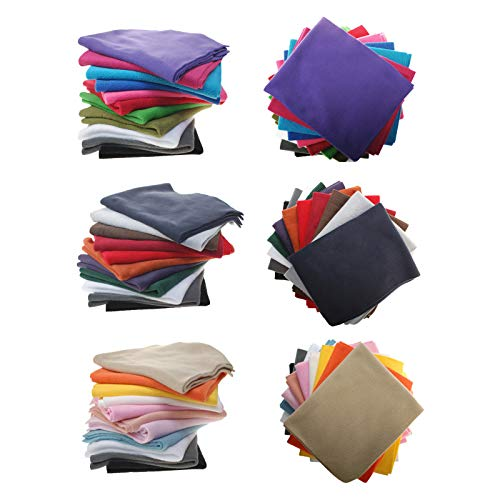 Polar Fleece Fat Squares Fabric Bundles