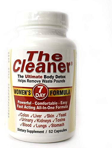The Cleaner 7Day Women's Formula Ultimate Body Detox (52 Capsules) 1