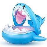Bébé Siège De Piscine Requin Bague De...