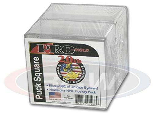 Case of 54 Pro-Mold Puck Squares PCPSquare cubes holders displays