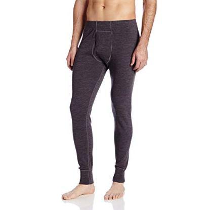 Minus33 Merino Wool 706 Kancamagus Men's Midweight Bottom Charcoal Grey XL