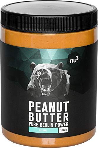 nu3 Crema de cacahuete - 1 kg Peanut Butter pura y natural -