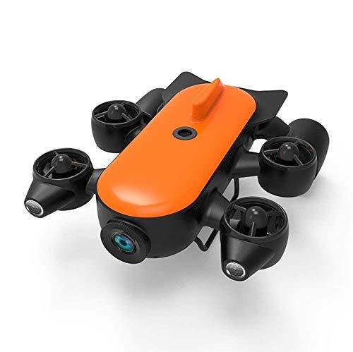AHELT-J 150M / 100M Robot Professionale per Droni Subacquei con Rilevamento di Telecamere D'azione 4K UHD in Tempo Reale,Rilevamento Subacqueo per Visualizzazione, Pesca e Lavori di Salvataggio,150m