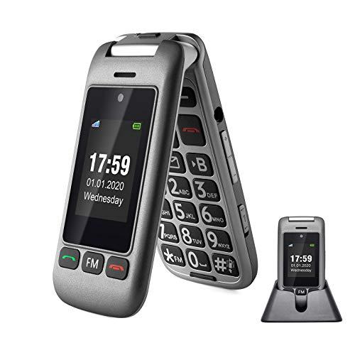 artfone 3G/2G Unlocked Senior Flip Cell Phone,Senior Phone...