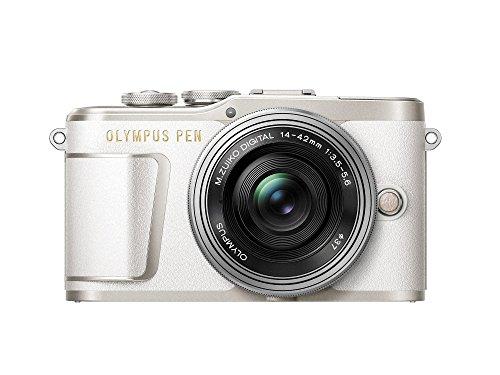 OLYMPUS ミラーレス一眼カメラ PEN E-PL9 レンズキット ホワイト