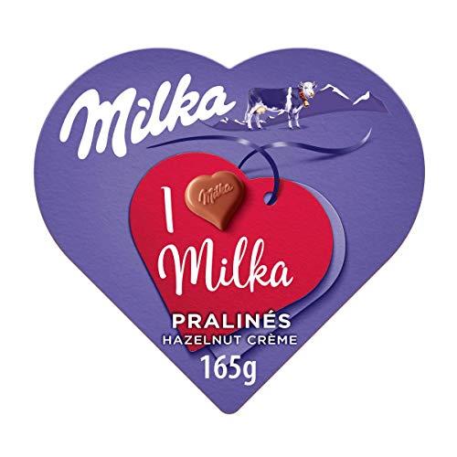 Milka - Bombones Cubiertos y Rellenos de Cremosa Mousse de C